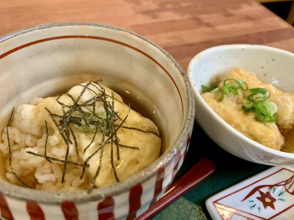 Nasi Yuba dari Yuba Izumi