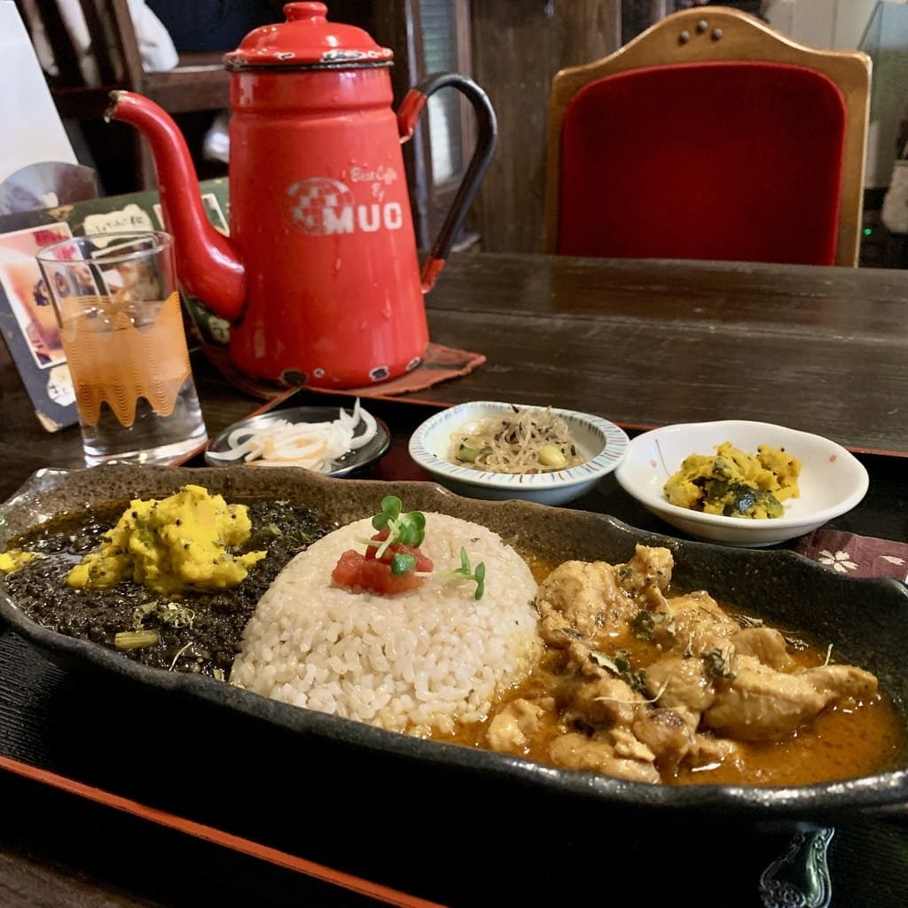 Curry na velha Yam House