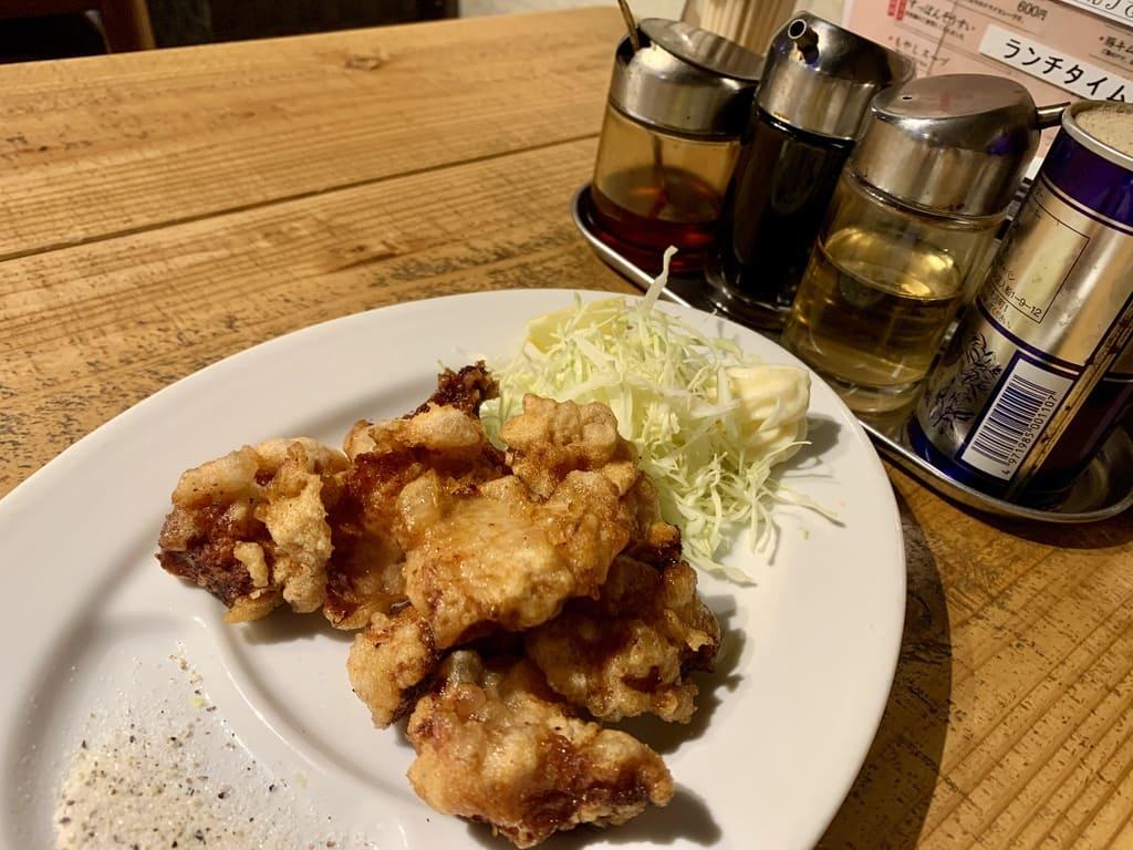 Ramen bar K frito em Machiya