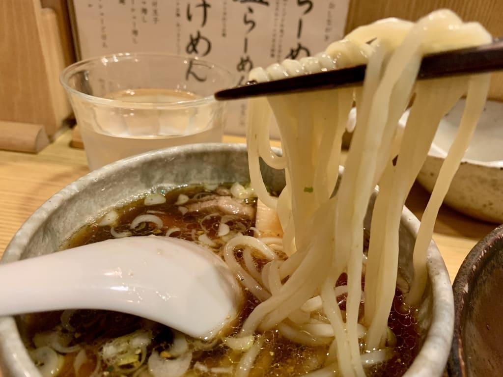 山崎麺二郎のつけめん実食2