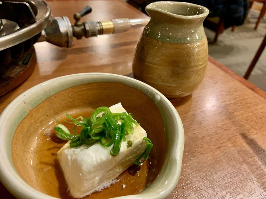 南禅寺順正の湯豆腐実食