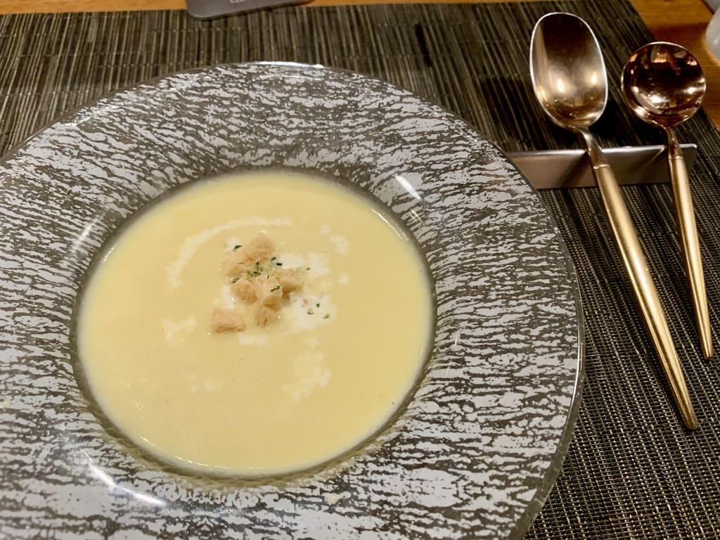 ザ 洋食屋キチキチのコーンクリームスープ