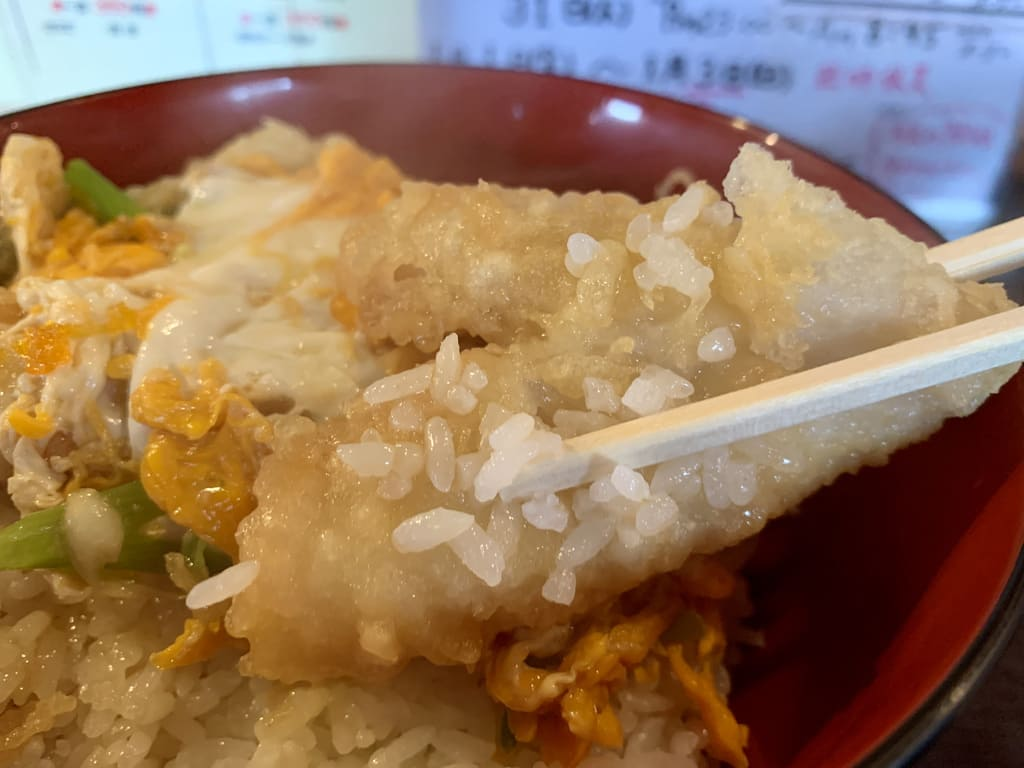 天ぷら大吉の天丼大盛り実食