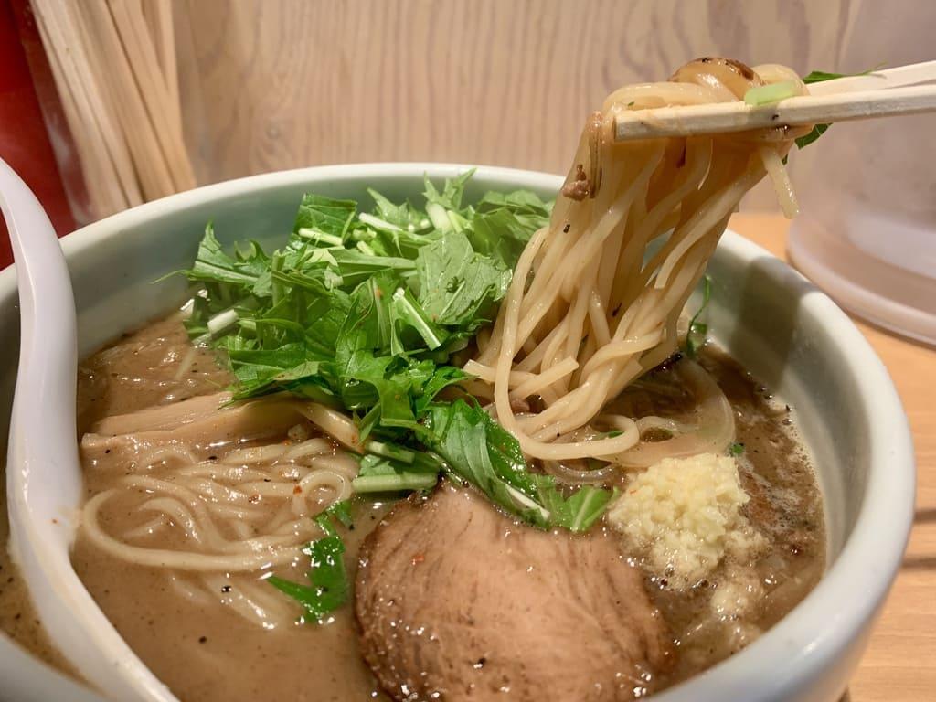 祇園白川ラーメンの味噌ラーメン実食