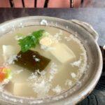 とようけ茶屋の湯豆腐近影