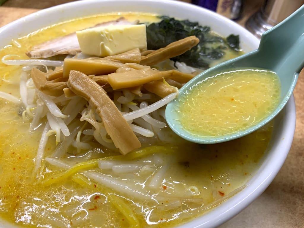 味の札幌大西の味噌カレー牛乳ラーメンスープ