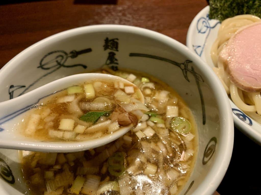 麺屋武蔵の武蔵つけ麺スープ