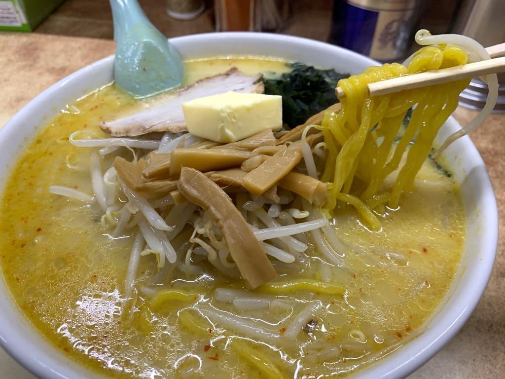 味の札幌大西の味噌カレー牛乳ラーメン実食
