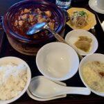 ぜぜかんぽっちりの四川麻婆豆腐膳