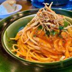 Speck-Pilz-Tomatensauce vom Vogelbaum-Holzkohlegrill
