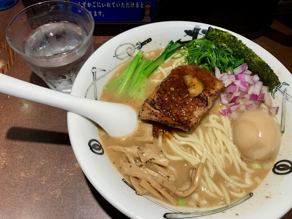 Menya Musashi Takehito的Takehito拉麵