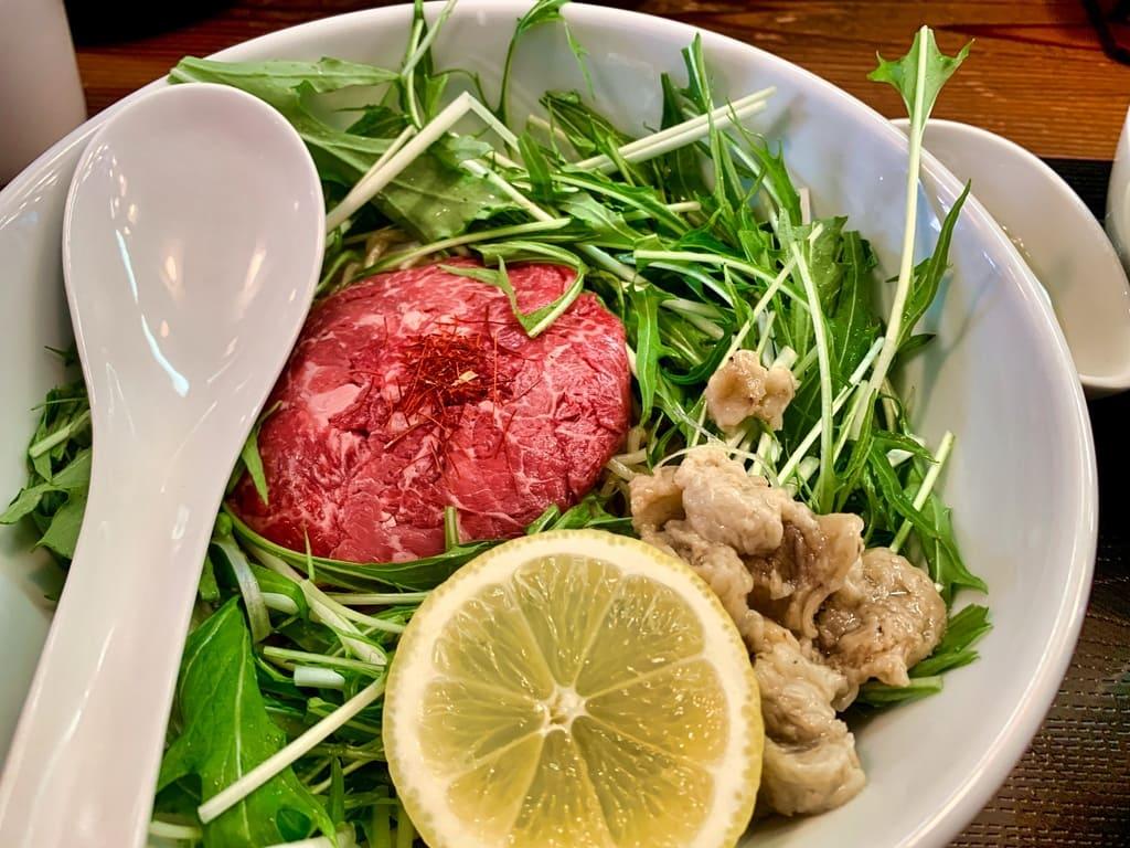 松坂牛麺吹田店の松坂牛麺