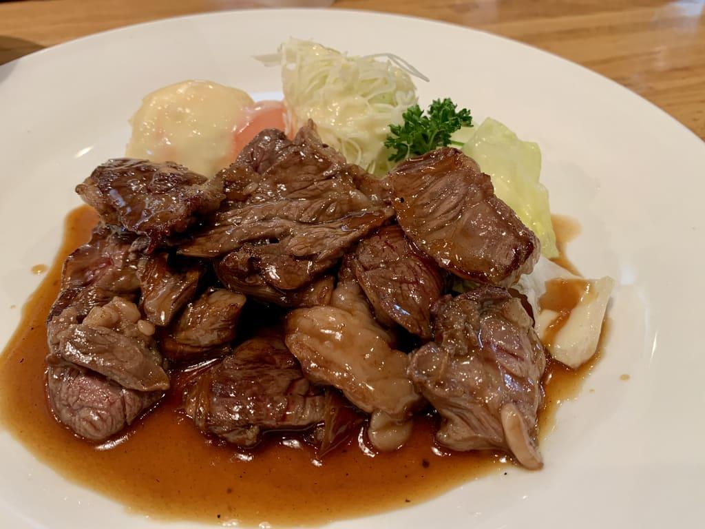 Haramisote daging sapi wortel panggang