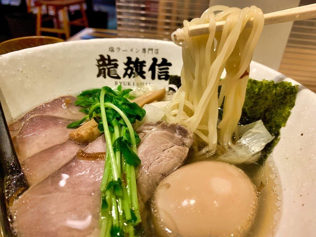 Garam Ryukishin LEO ramen DX makanan sebenar