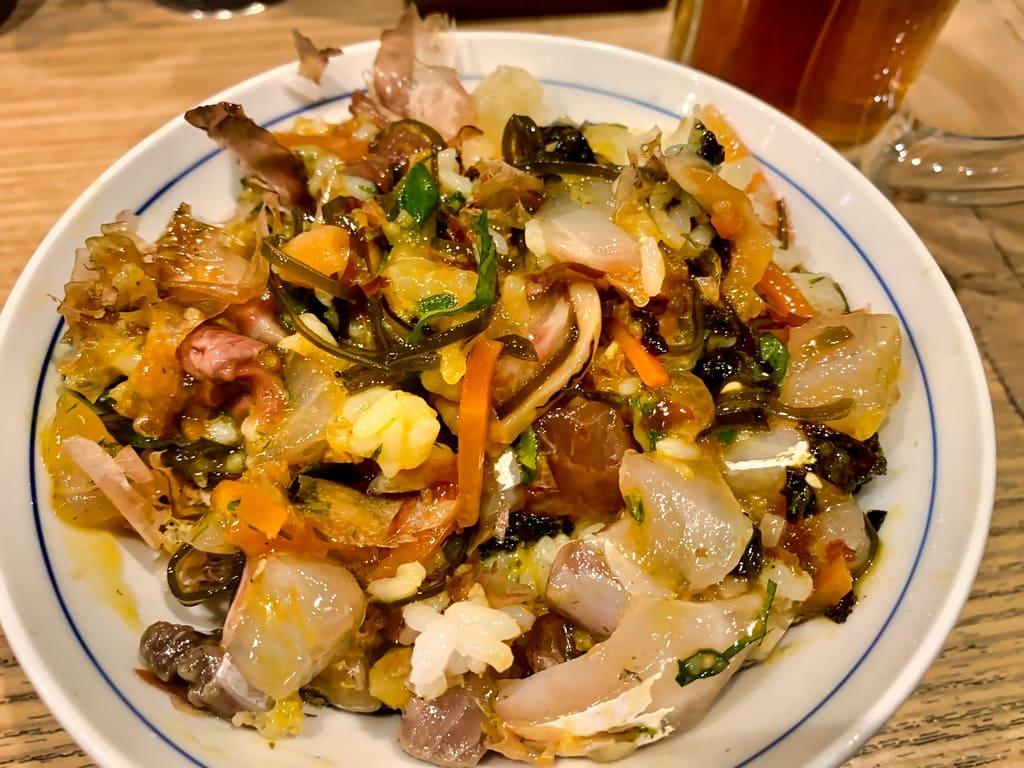 魚屋スタンドふじの魚屋丼実食