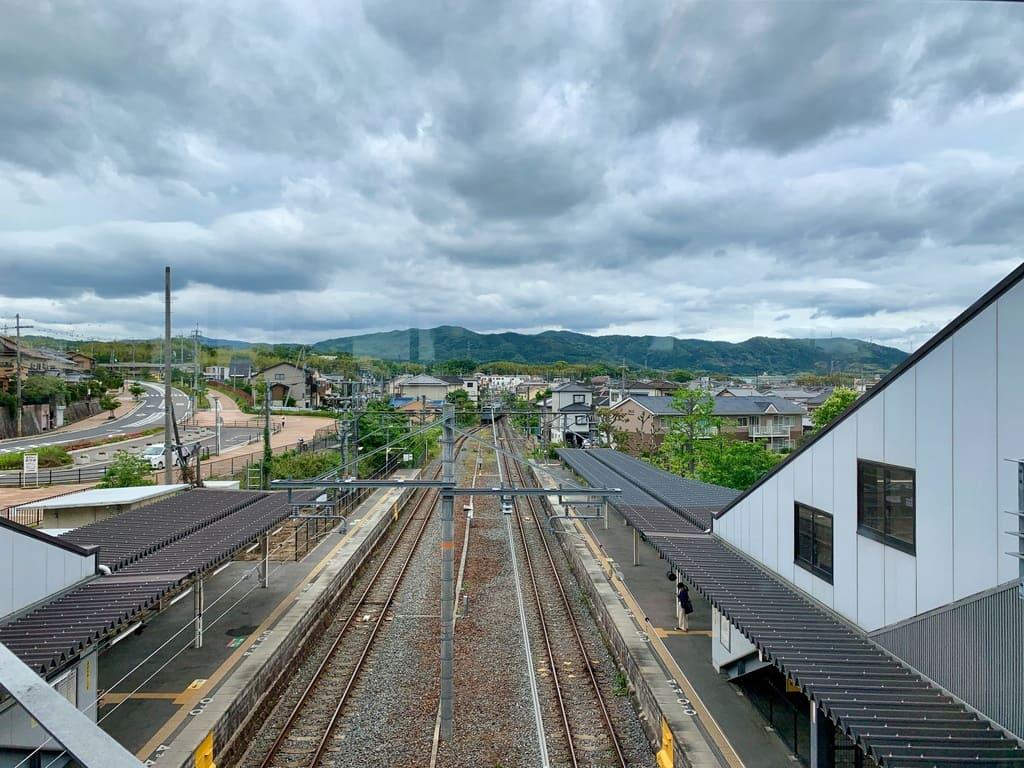 JR長池駅からの眺望
