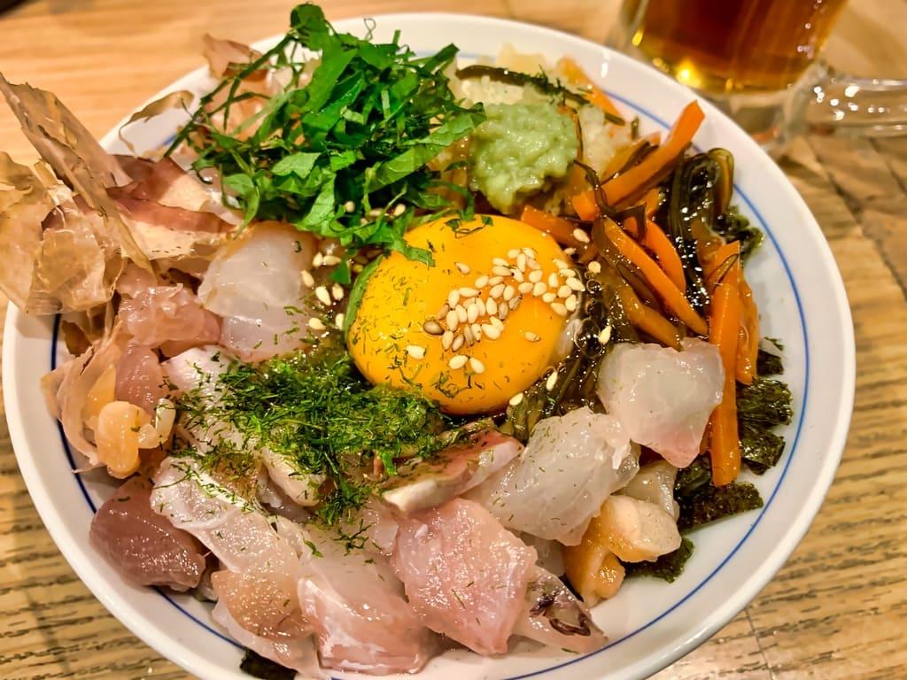魚屋スタンドふじの魚屋丼