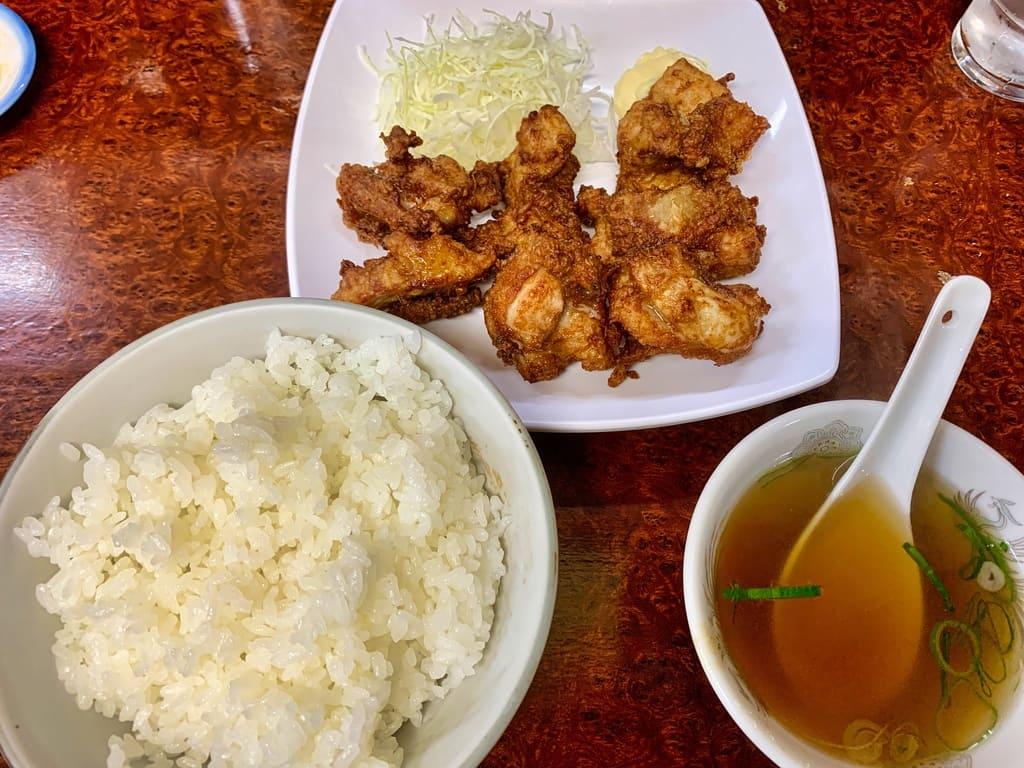 Mister Gyoza Hühnchen mit gebratenem Reis
