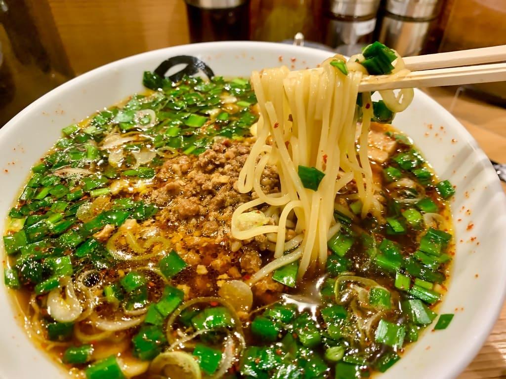 麺屋マルショウ地下鉄新大阪駅店の台湾ラーメン実食