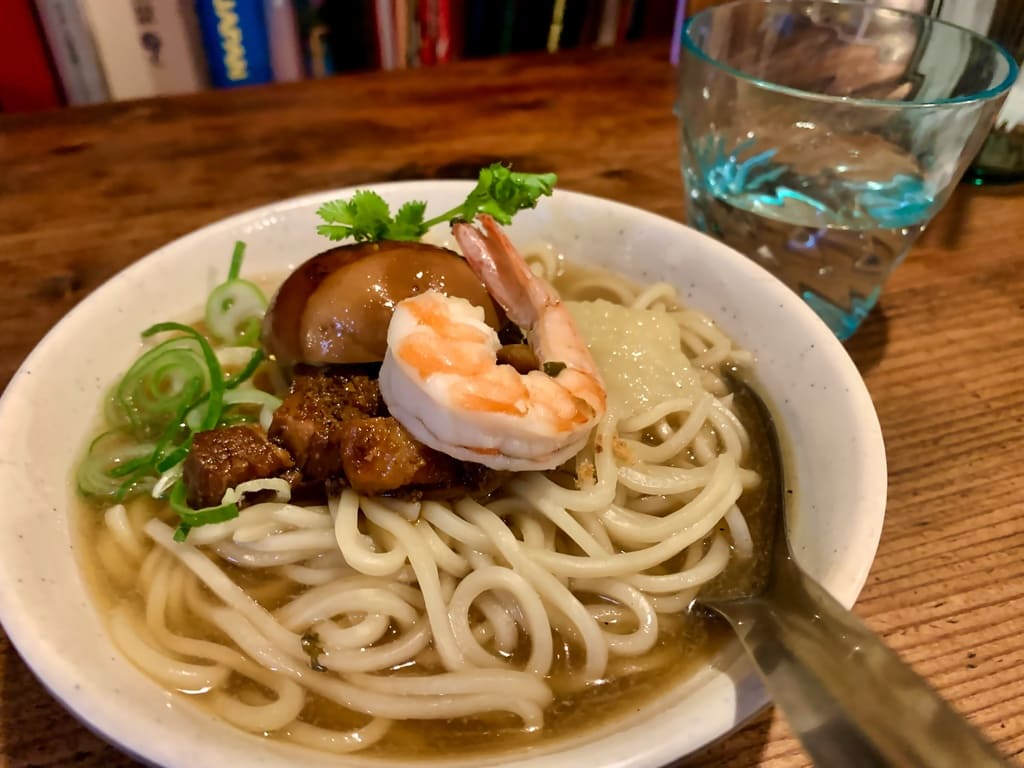 微風台南の台南担仔麺