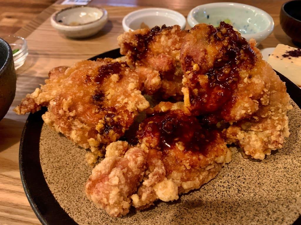 隈本総合飲食店maoの唐揚げ食べ放題ランチおかわり