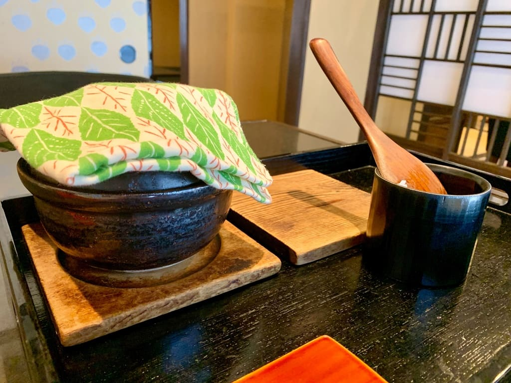 京都一の傳の釜炊きごはん