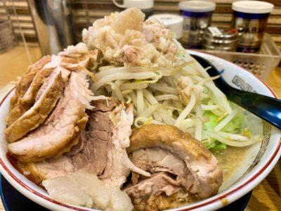 ラーメン豚山 南船場店の小ぶたダブルつけ麺つけ汁