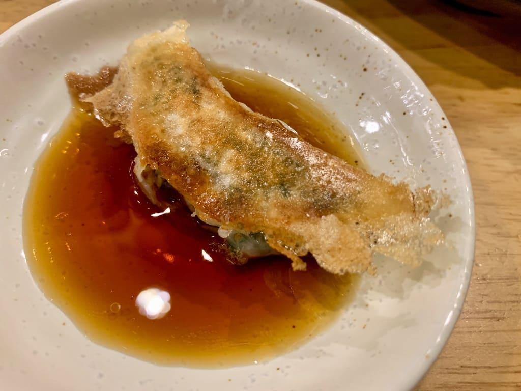 餃子歩兵 祇園本店のぎょうざ実食