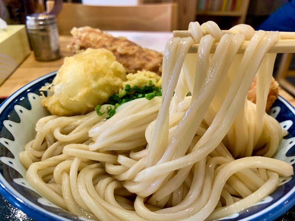 き田たけうどんのちく玉天ぶっかけ実食