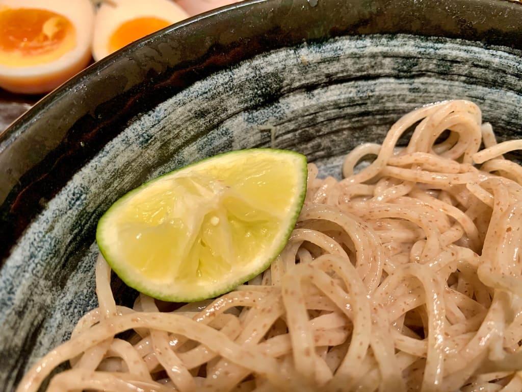 麺匠たか松 京都本店のつけ麺実食3