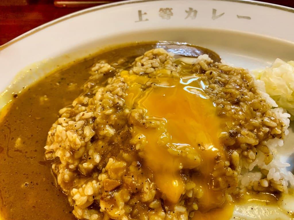 福島上等カレー本店のカレーライス実食2
