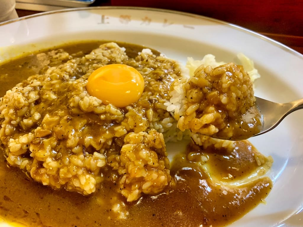 福島上等カレー本店のカレーライス実食1