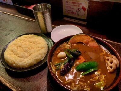 アジアンバーラマイ札幌本店のチキンスープカレー2